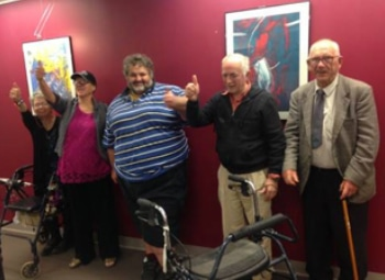 Committee members from Our Voice South Australia
