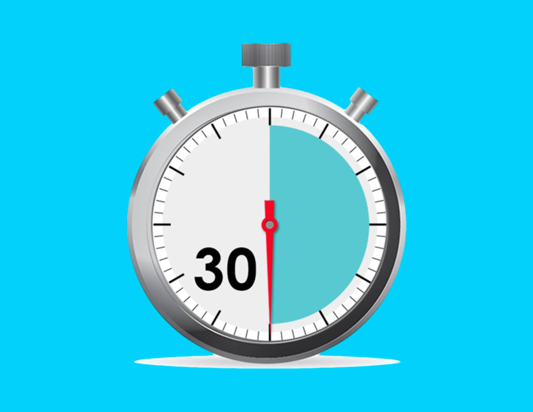 image of clock for the 30 Minute Training