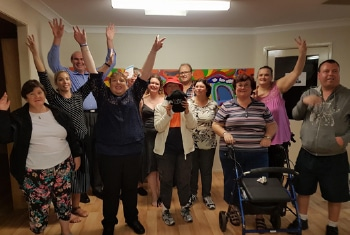 Picture of committee members from Wollongong Self Advocacy