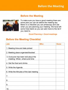 Image for the Before the Meeting Tip Sheet document