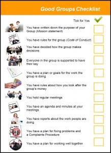 Image for the Good Groups Tool Kits - Good Groups Checklist document