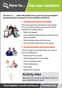Image for the How to Get New Members brochure