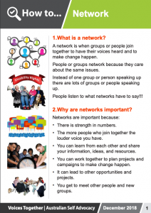 Image for the How to - Network brochure
