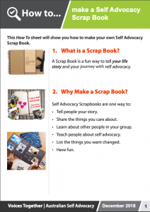 Image for the How to - Make a Scrap Book brochure