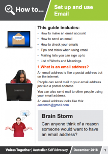Image for the How to - Set up and use Email brochure