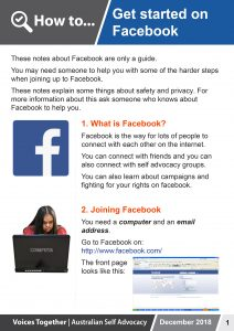 Button for How to - Start Facebook
