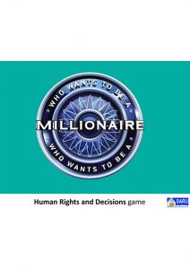 Button for the Human Rights And Decisions Game