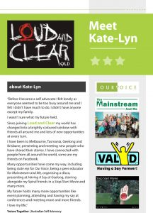 Button for Kate-Lyn's story