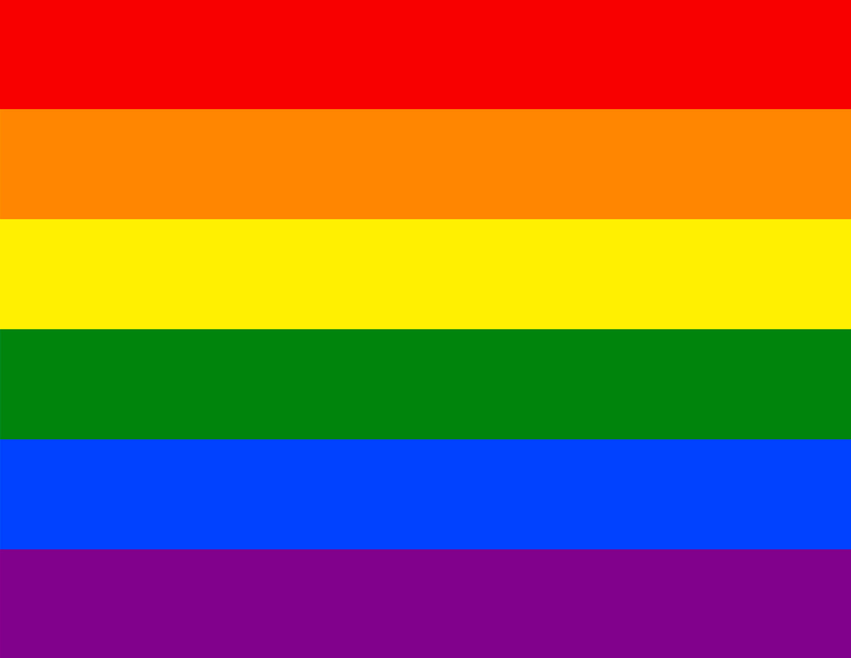 button for LGBTIQ Resources showing the flag