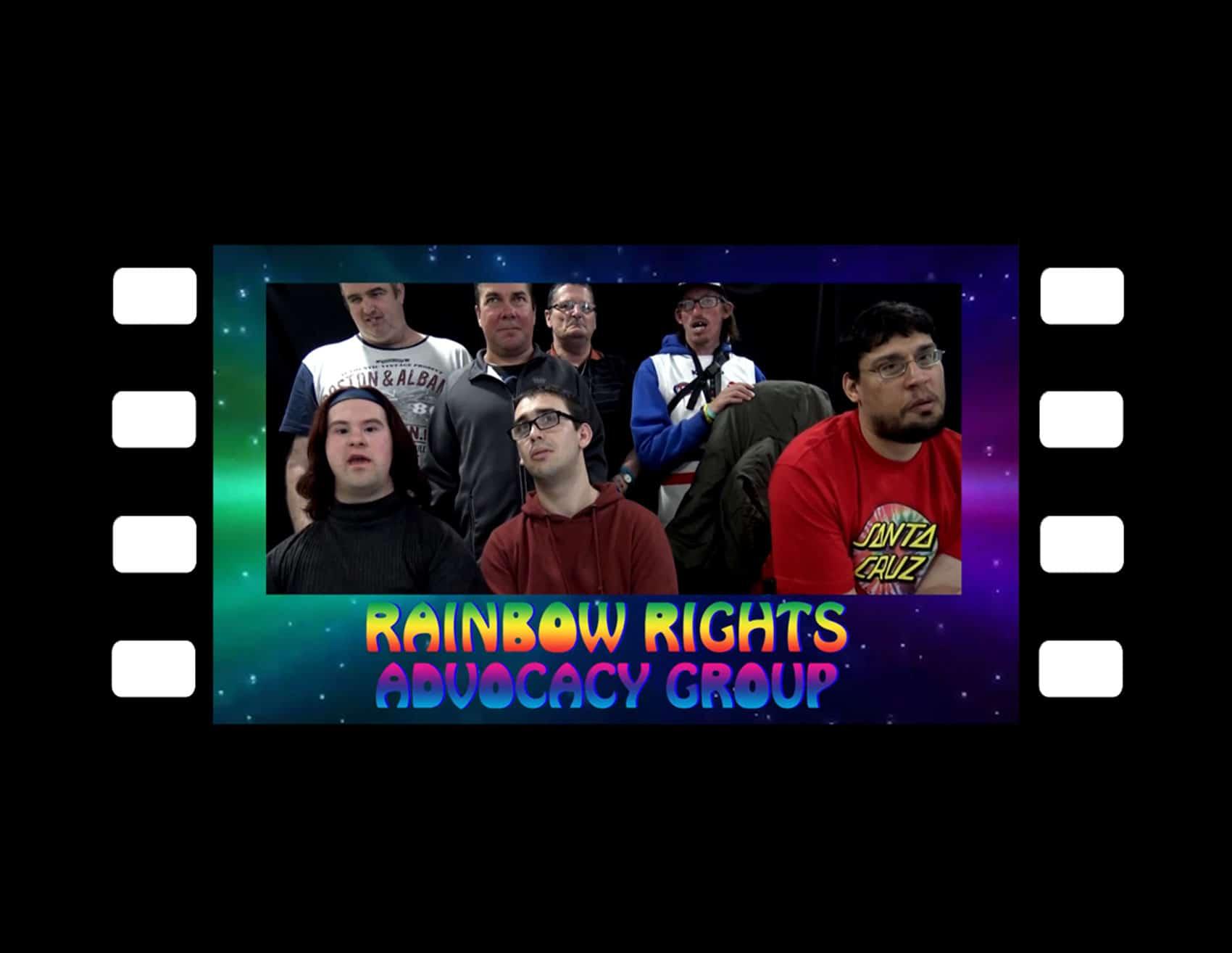 Button for the LGBTIQ Videos