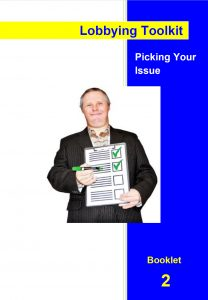 Image for the Lobbying Toolkit - Picking Your Issue
