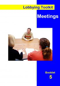 Image for the Lobbying Toolkit - Meetings