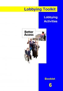 Image for the Lobbying Toolkit - Lobbying Activities