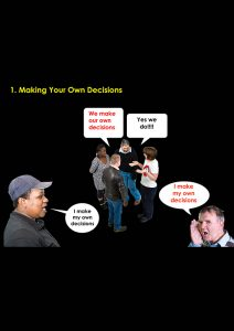 Image for making your own decisions document