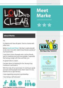 Marke's story