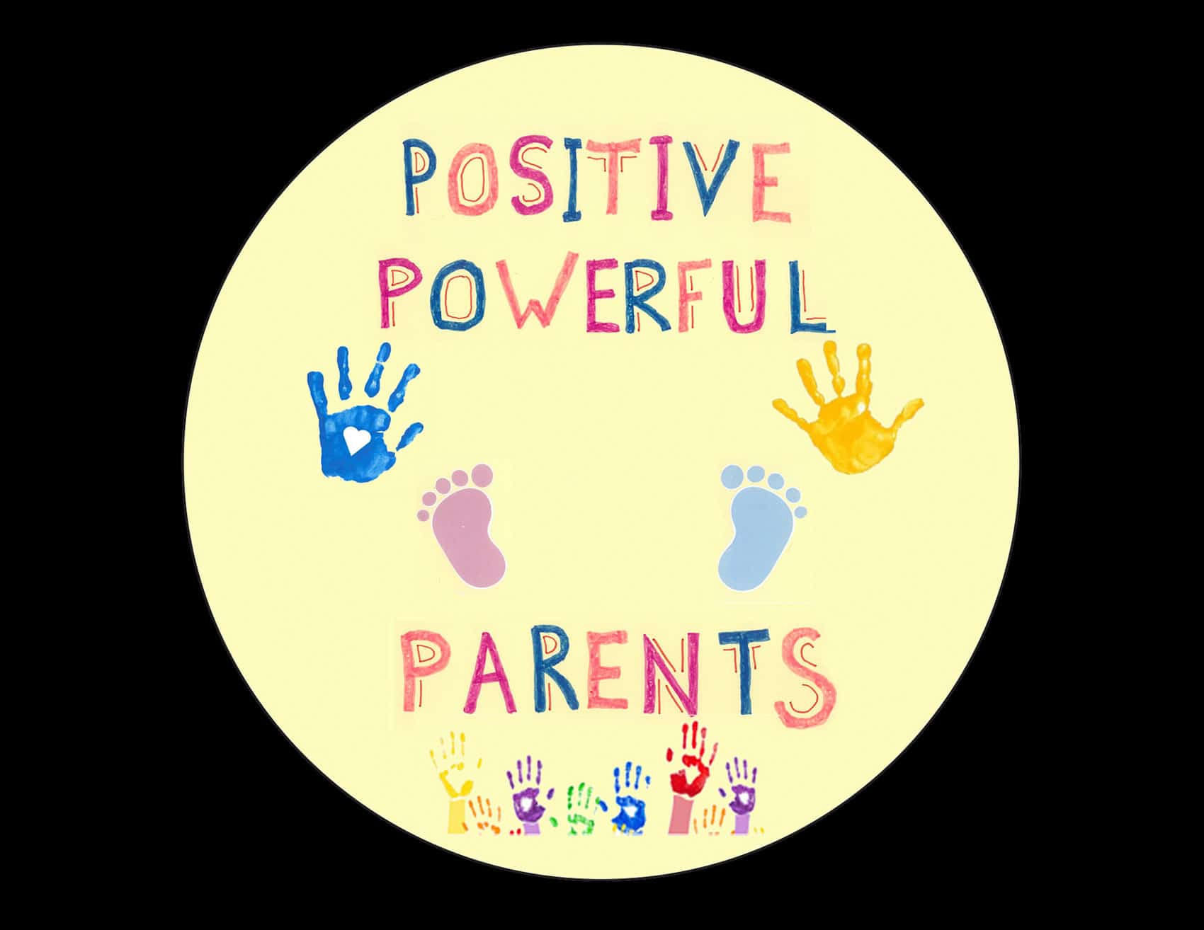 Powerful Positive Parents Button