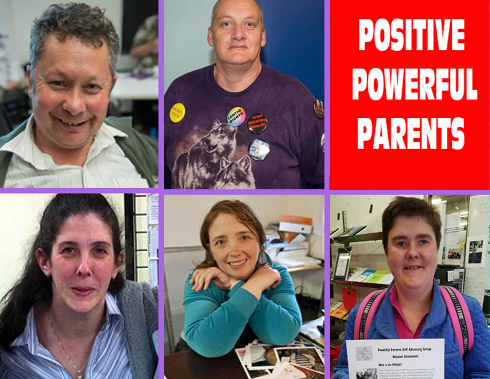Picture of Powerful Positive Parents committee members