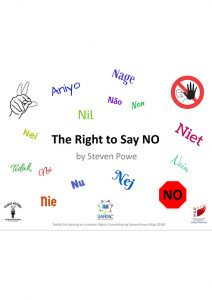 Button for Right To Say No PDF