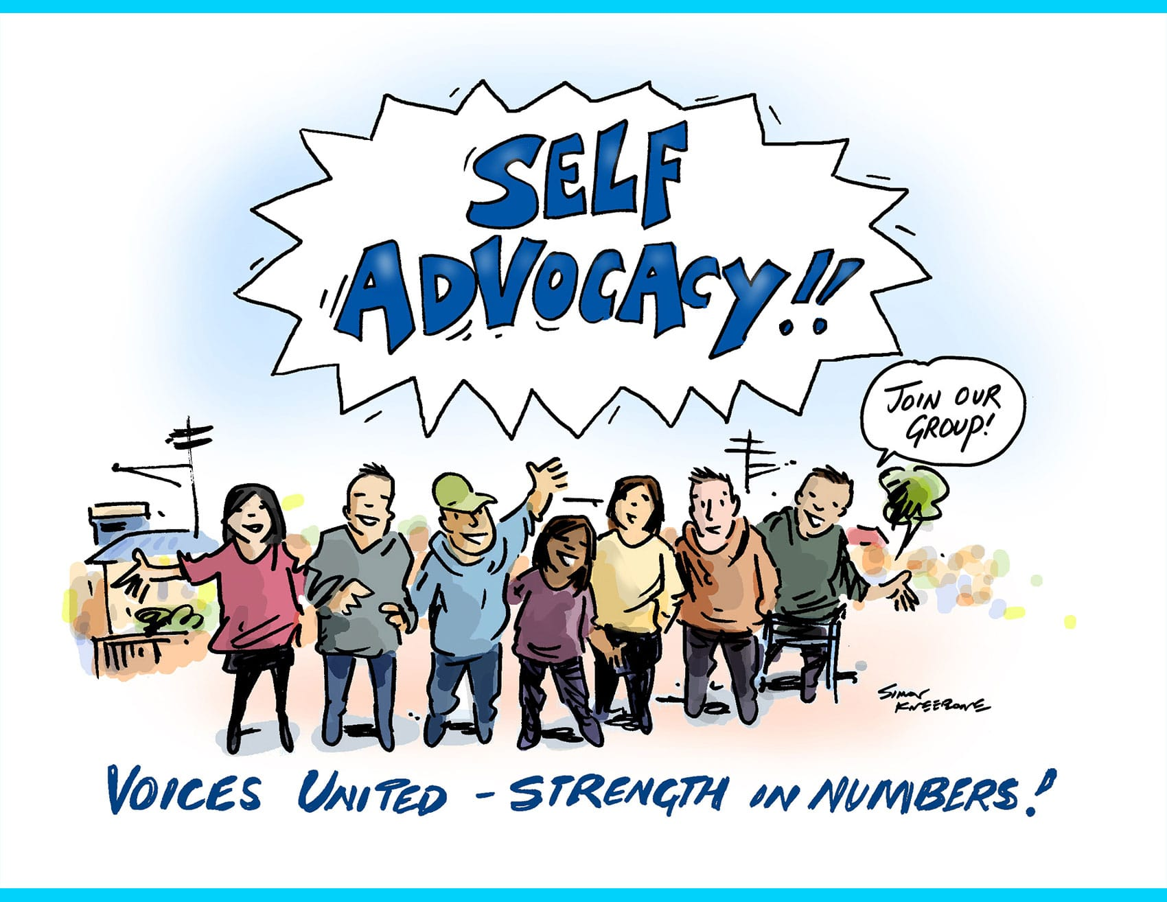 Button for the Self Advocacy Resources section