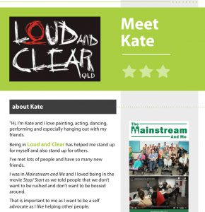 Self advocacy resources - our stories - Kate