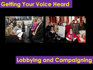 Image for the Speaking Up - Lobbying and Campaigning document