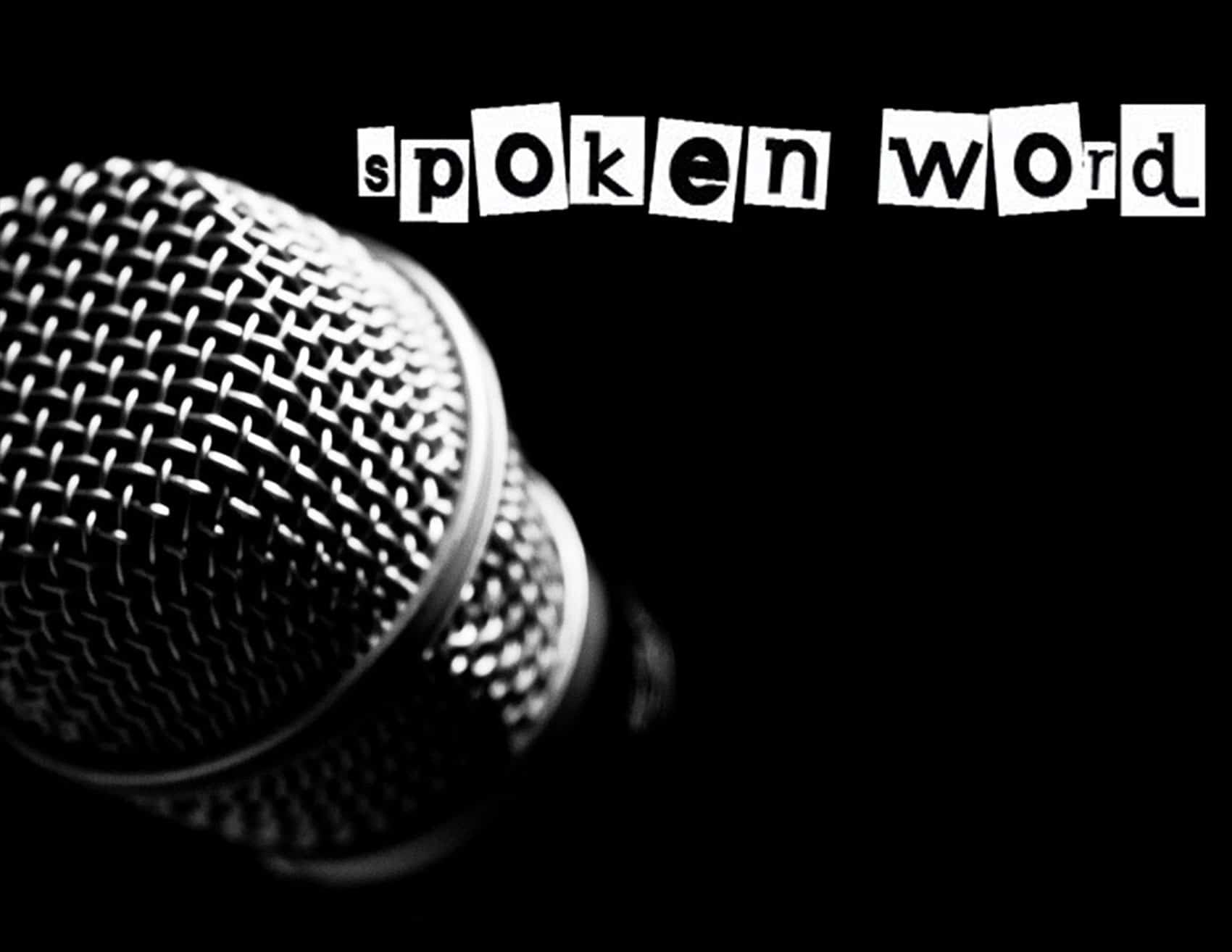 Spoken Word Button