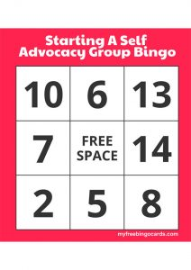 Image for Starting a group bingo cards
