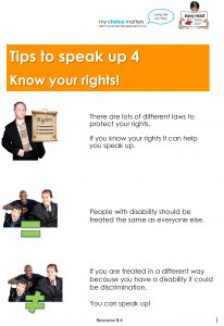 Button for Tip sheet Speaking up 4