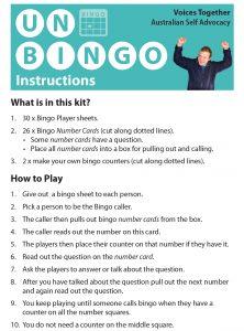 Button for the UN bingo game