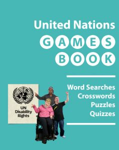 Button for the UN Games Book