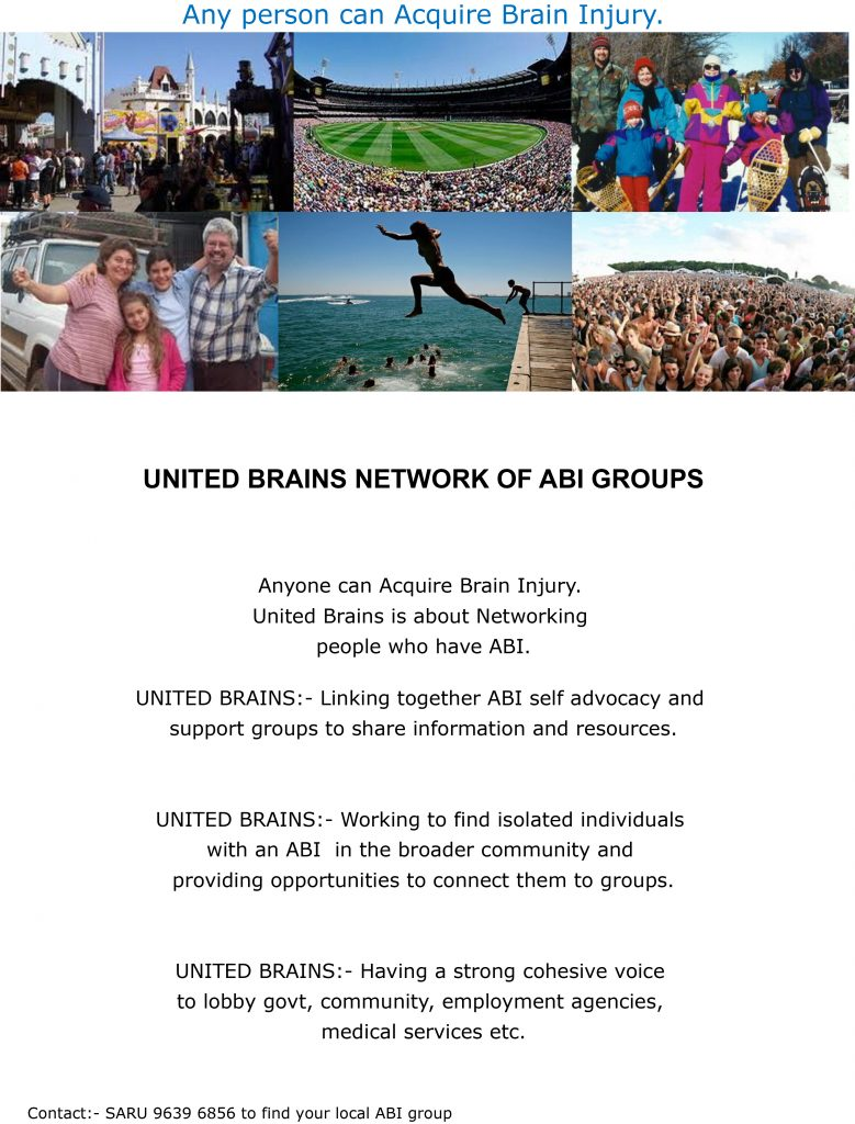 Image of the United Brains Network brochure