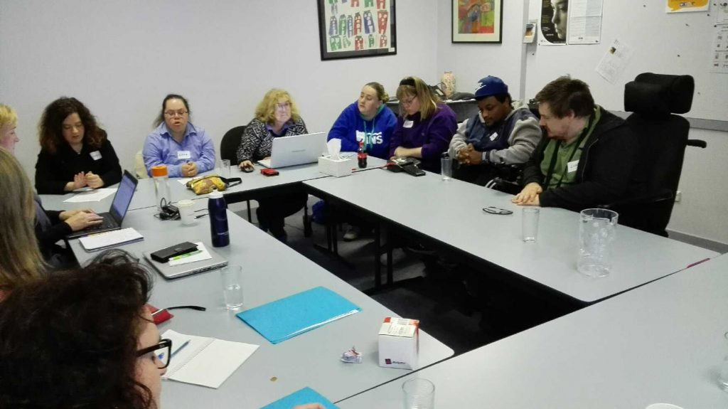 Valid Self Advocacy networks committee meeting