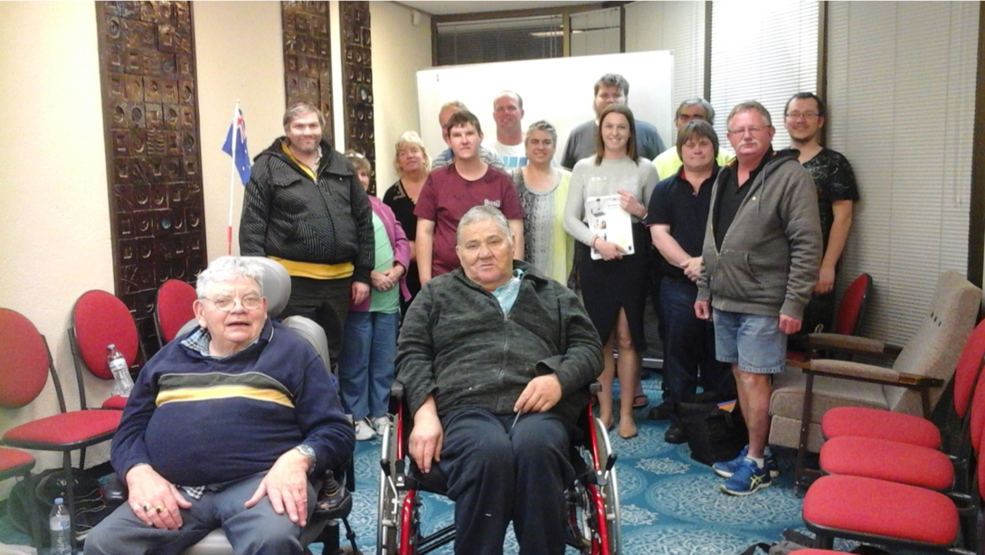 Picture of the Wagga Wagga Self Advocacy Support Group