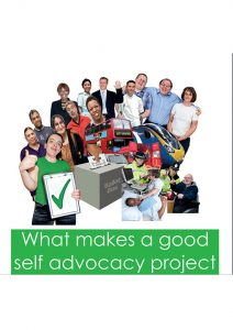 Button for What Makes Good Self Advocacy Group