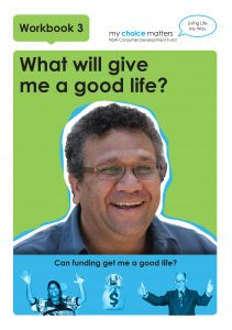 Workbook 3 A Good Life button
