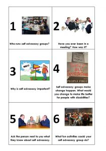 Image for the bingo questions game for starting a new group