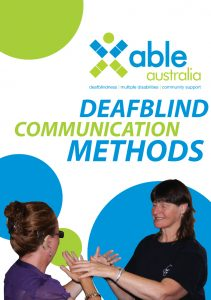 Button for the deafblind resources