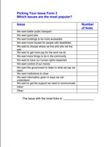Image for picking your issue form 2 starting a new group document