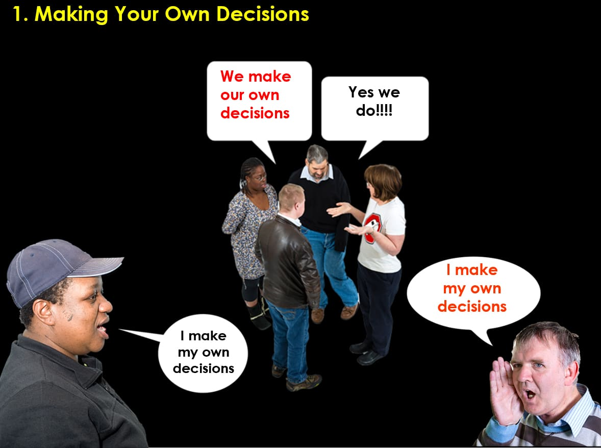 Image for setting up a new group - decisions