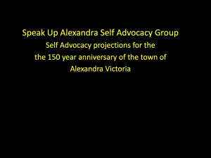 150 Years Alexandra Celebration PPT