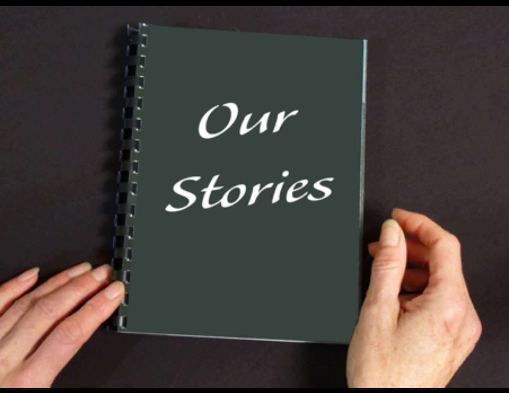 Button for the Our Stories resources