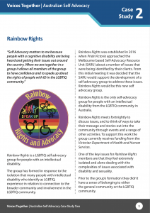 Rainbow Rights Case Study
