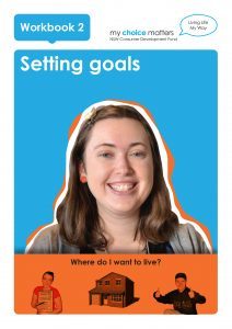 Button for Setting Goals Where I Live Easy English