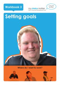 Button for My Choice Matters easy EnglishSetting Goals Where I Work Easy English