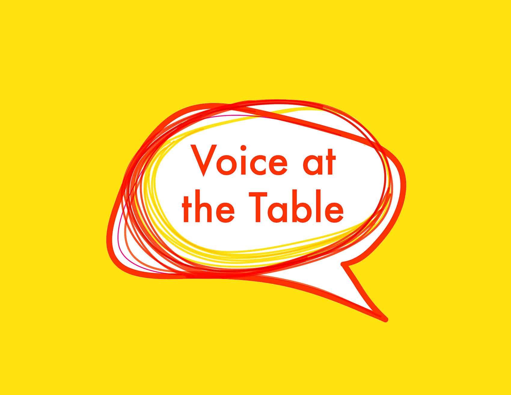 Voice At The Table Button