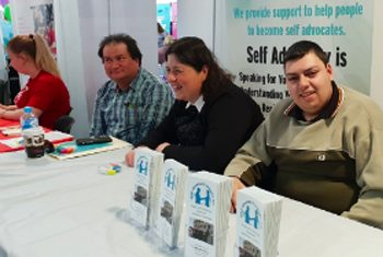 Picture of Committee members from Self Advocacy Sydney